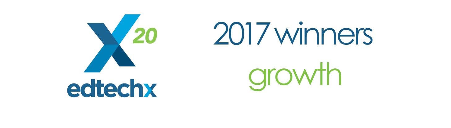 EdTech 2017 Growth Winner - LP Header