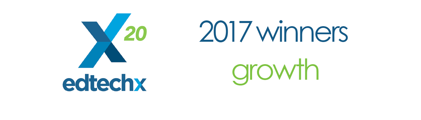 EdTech 2017 Growth Winner - LP Header