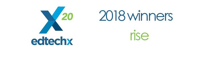 EdTech 2018 Rise Winner - LP Header