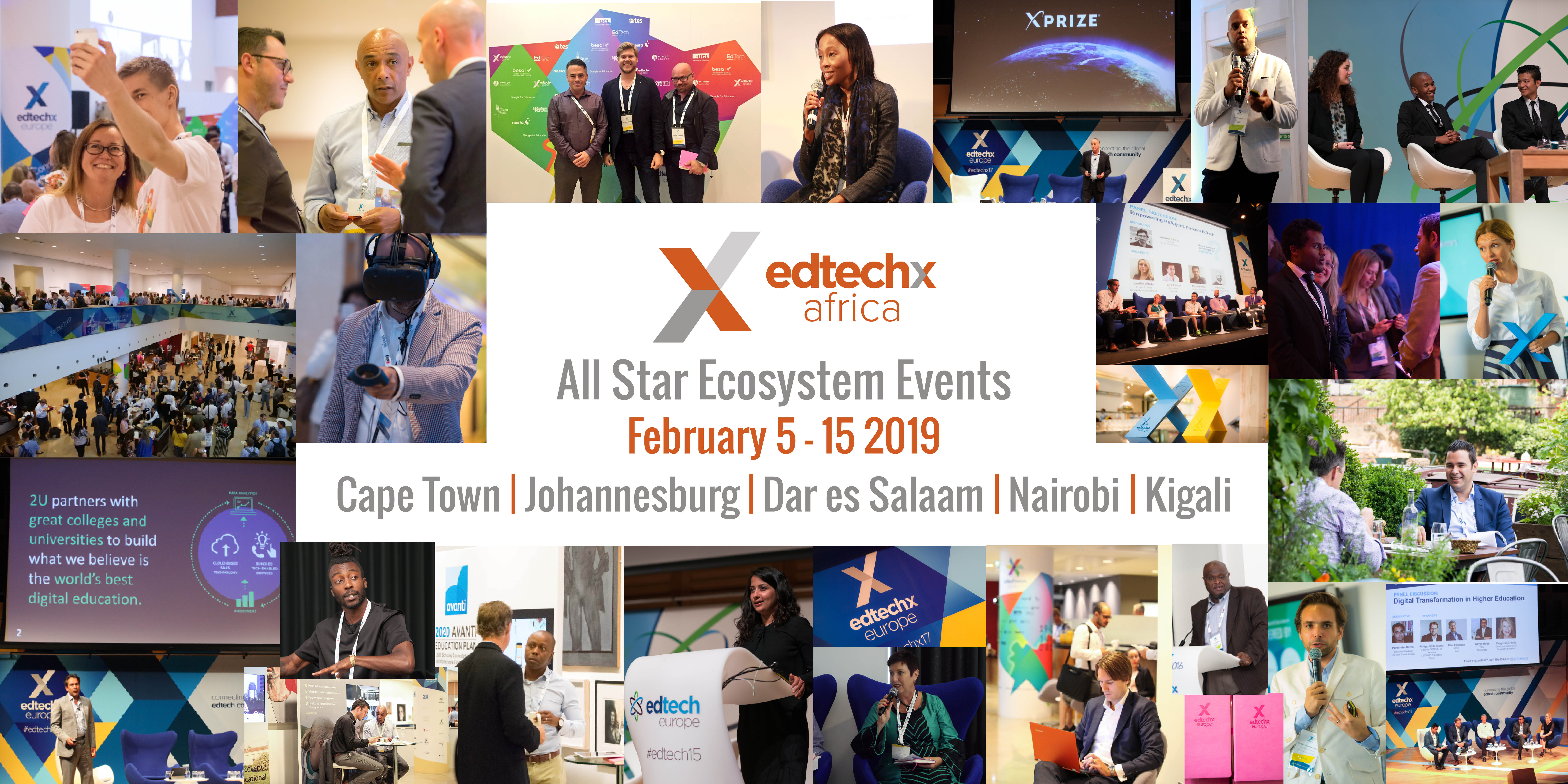EdTechXAfrica Ecosystem Events - Header