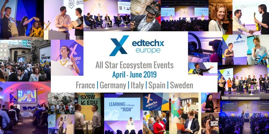 EdTechXEurope Ecosystem Events