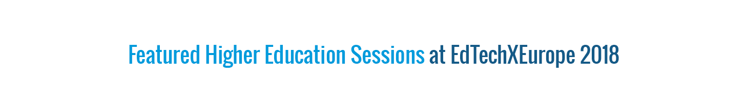 Selected HE Sessions - ETE 18