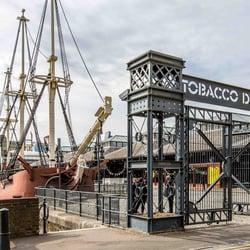 tobacco dock square
