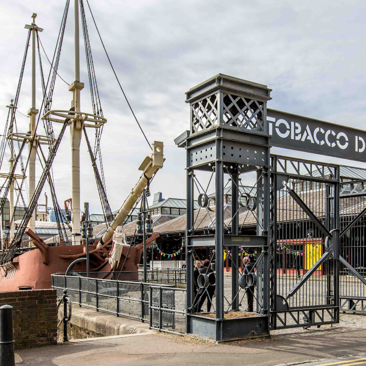 tobacco dock square